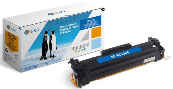 Фото - Картридж лазерный G&G NT-CC530A черный (3500стр.) для HP CLJ CP2020/CP2025/CM2320 MFP картридж superfine cc530a для hp clj cp2020 cp2025n черный 3500стр crg718bk
