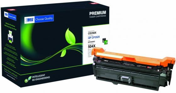 Фото - Картридж лазерный MSE CE250X 3525K-XL-MSE черный (16000стр.) для HP CLJ CP3525/CM3530 картридж nv print ce250x черный для hp color lj cm3530 cp3525dn
