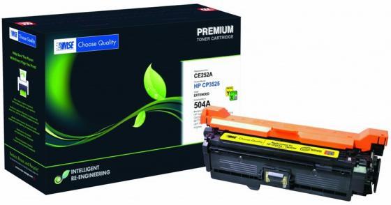 Картридж лазерный MSE CE252A 3525Y-XL-MSE желтый (11000стр.) для HP CLJ CP3525/CM3530 картридж mse ce401a голубой [m551c xl mse]