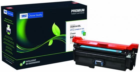 Фото - Картридж лазерный MSE CE261A 4025C-XL-MSE голубой (13200стр.) для HP LJ CP4025/CP4525/CM4540 картридж hp cf031a для hp cm4540 голубой