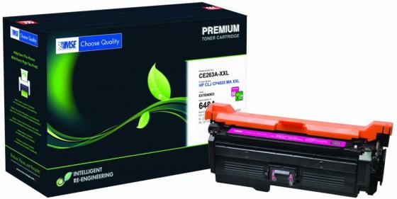 Фото - Картридж лазерный MSE CE263A 4025M-XL-MSE пурпурный (13200стр.) для HP LJ CP4025/CP4525/CM4540 картридж nv print ce263a пурпурный для hp cp4520 cp4525