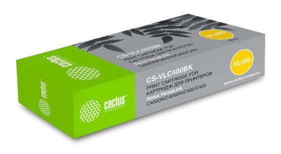 Фото - Картридж лазерный Cactus CS-VLC400BK 106R03532 черный (10500стр.) для Xerox VersaLink C400DN/C405DN/C400/405/C400N/C405N/ картридж xerox 106r03532
