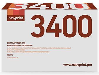 Фото - 3400D Драм-картридж EasyPrint DB-3400 для Brother HL-L5000/5200/DCP-L5500/MFC-L5700/6800 (50000 стр.) DR-3400 картридж brother tn3430 для brother hll5000 5100 5200 6250 6300 6400 dcp5500 6600 mfc5750 6800 6900 черный