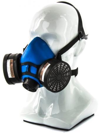Полумаска изолирующая ИСТОК-300/400 со сменными комбинированными фильтрами А1Р1 </div> <div class=