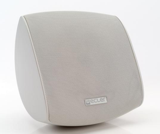 """Акустическая система ECLER [AUDEO 108 WH] корпусная,100Вт RMS/8Ом,7.5/15/30/60Вт на100В,вуфер 8"""" Кевлар,купольн.твитер 1""""шелк,диап.65Гц-22кГц,94,5дБ,вес 3.75кг,размеры300*310*225мм,бел,дизайн GIUGIARO.Крепление в комп (в упаковке 2шт, цена указана за 1шт"""