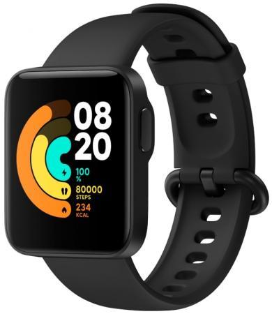 Часы Xiaomi Mi Watch Lite RU черный смарт часы xiaomi mi watch lite ru 1 4 синий синий [bhr4705ru]
