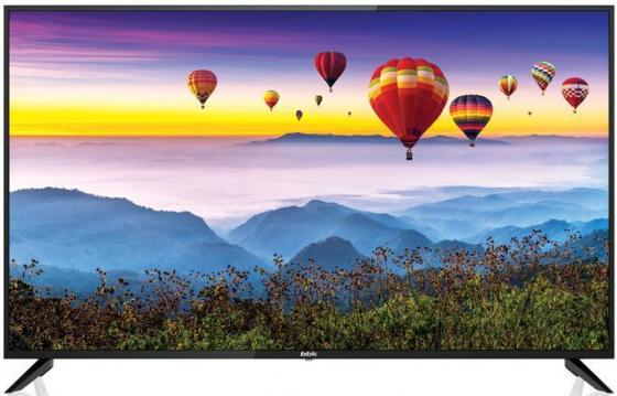 Фото - Телевизор LED 55 BBK 55LEX-8172/UTS2C черный 3840x2160 50 Гц Wi-Fi Smart TV 3 х HDMI 2 х USB RJ-45 Bluetooth CI+ телевизор led 65 samsung ue65ru7400ux черный 3840x2160 100 гц wi fi smart tv rj 45 bluetooth