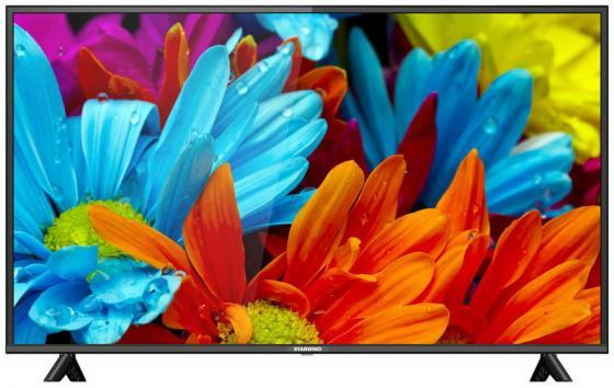 Фото - Телевизор LED 55 StarWind SW-LED55UA404 черный 3840x2160 60 Гц Wi-Fi Smart TV 3 х HDMI 2 х USB RJ-45 CI+ телевизор led 65 sony kd65x81jr черный 3840x2160 60 гц wi fi smart tv 4 х hdmi rj 45 ci 2 х usb bluetooth