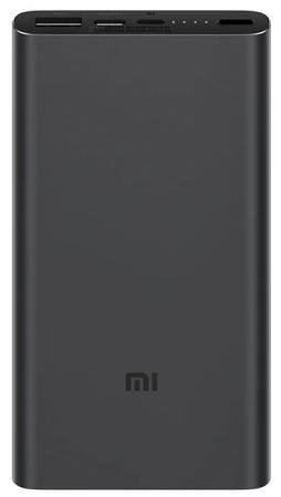 Фото - Внешний аккумулятор Power Bank 10000 мАч Xiaomi PLM12ZM черный xiaomi mi power bank 2c 20000 mah