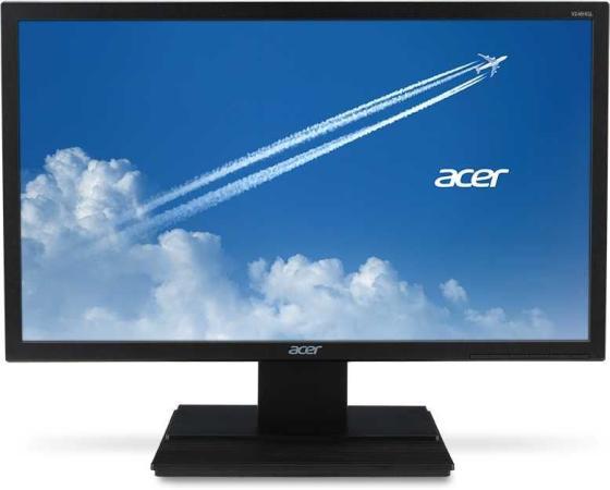 Монитор 24 Acer V246HQLbi черный VA 1920x1080 250 cd/m^2 5 ms HDMI VGA монитор acer kg241bmiix 24 черный