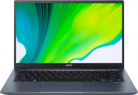 Ультрабук Acer Swift 3x SF314-510G-782K 14 1920x1080 Intel Core i7-1165G7 SSD 512 Gb 16Gb WiFi (802.11 b/g/n/ac/ax) Bluetooth 5.0 Intel Iris Xe Graphics синий Windows 10 Home NX.A0YER.008 ультрабук acer swift 3x sf314 510g 7734 14 ips intel core i7 1165g7 2 8ггц 16гб 1тб ssd intel iris xe max 4096 мб windows 10 nx a0yer 007 синий