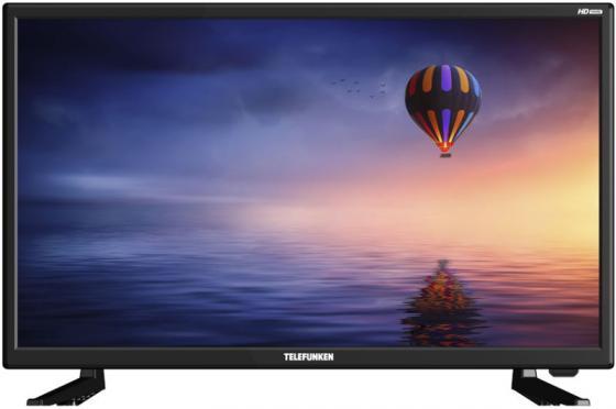 Фото - Телевизор LED 31.5 Telefunken TF-LED32S02T2 черный 1366x768 50 Гц 3 х HDMI USB CI телевизор telefunken 32 tf led32s83t2s черный