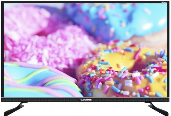 Фото - Телевизор LED Telefunken 31.5 TF-LED32S33T2S черный/HD READY/50Hz/DVB-T/DVB-T2/DVB-C/USB/WiFi/Smart TV (RUS) телевизор led telefunken 32 tf led32s83t2s черный hd ready 50hz dvb t dvb t2 dvb c usb wifi smart tv rus