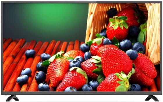 Фото - Телевизор LED 50 Erisson 50ULX9010T2 черный 3840x2160 50 Гц Wi-Fi Smart TV 3 х HDMI 2 х USB RJ-45 CI+ тумба под телевизор manhattan rennes тв с led подсветкой black gloss black matte pa16253 484 х 2170 х 448