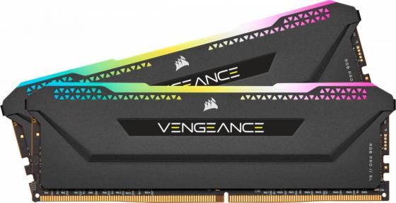 Оперативная память 16Gb (2x8Gb) PC4-25600 3200MHz DDR4 DIMM CL16 Corsair CMH16GX4M2Z3200C16 память оперативная ddr4 corsair 16gb 3200mhz cm4x16gc3200c16w2e