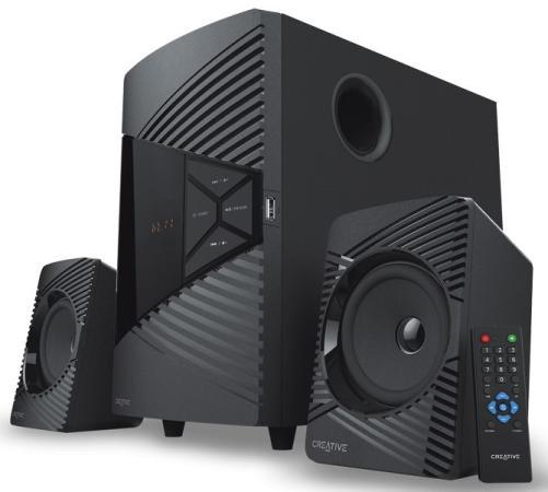 Колонки Creative SBS E2500 2.1 (две колонки + сабвуфер) Черный 51MF0485AA001