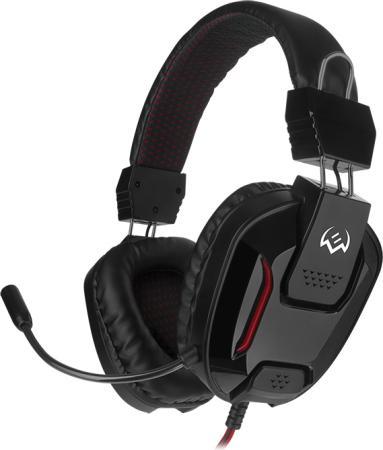 Фото - Игровые наушники с микрофоном SVEN AP-G555MV, черный-красный игровые центры oribel лесные друзья