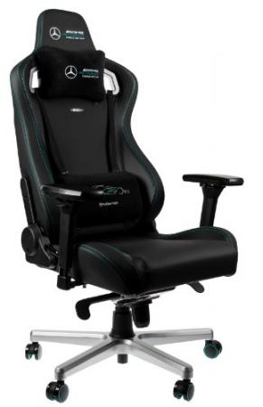 Игровое Кресло Noblechairs EPIC Mersedes AMG 2021 (NBL-EPC-PU-MPF) PU Hybrid Leather / black