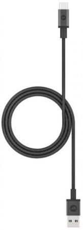 Фото - Кабель Type-C 1м Mophie 409903210 круглый черный кабель mophie usb a to lightning 1м черный