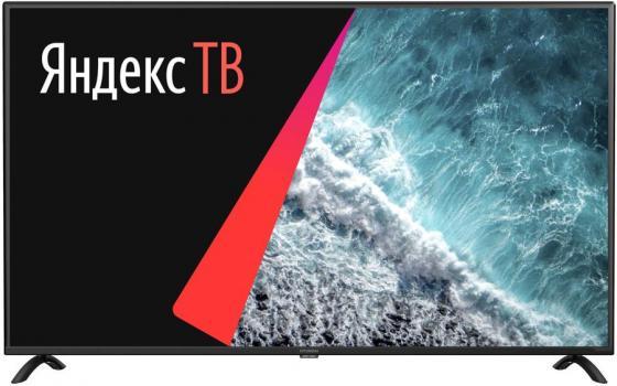 Фото - Телевизор LED Hyundai 50 H-LED50FU7001 Яндекс черный/Ultra HD/60Hz/DVB-T/DVB-T2/DVB-C/DVB-S2/USB/WiFi/Smart TV (RUS) ресивер dvb c hyundai h dvb840 черный