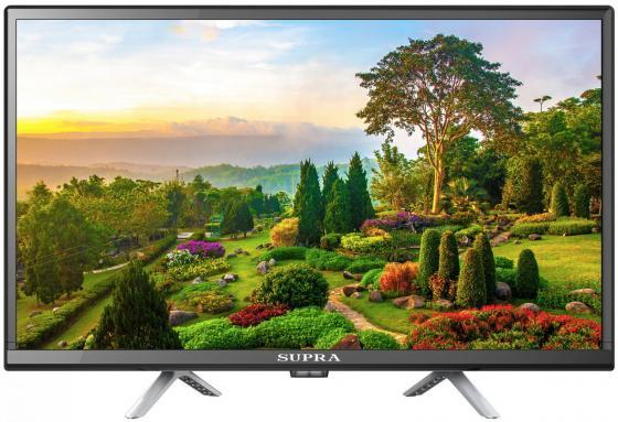 Фото - Телевизор LED Supra 23.6 STV-LC24LT0075W черный/HD READY/50Hz/DVB-T/DVB-T2/DVB-C/USB (RUS) led телевизор витязь 32lh1204 hd ready
