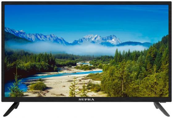 Фото - Телевизор LED 32 Supra STV-LC32LT0045W черный 1366x768 60 Гц 2 х USB 3 х HDMI CI+ тумба под телевизор manhattan rennes тв с led подсветкой black gloss black matte pa16253 484 х 2170 х 448