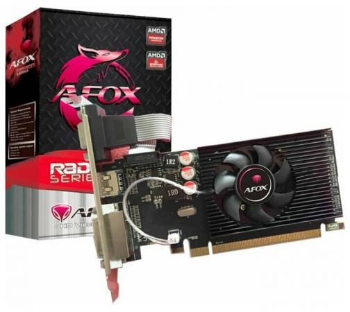 Видеокарта Afox AMD Radeon R5 220 AFR5220-2048D3L4 PCI-E 2048Mb GDDR3 64 Bit Retail