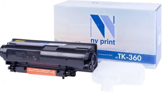 Фото - Картридж NVP совместимый NV-TK-360 для Kyocera FS-4020DN (20000k) картридж nv print nvp tk 715 для kyocera 3050 4050 5050 34000k