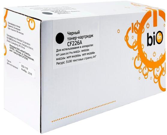 Картридж Bion CF226A для Hp LaserJet Pro M402(n/dn/dw/fdn/fdw) 3100стр Черный