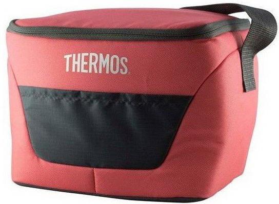 сумка термос тм thermos classic 12 can cooler t Сумка-термос Thermos Classic 9 Can Cooler 7л. розовый/черный (287403)