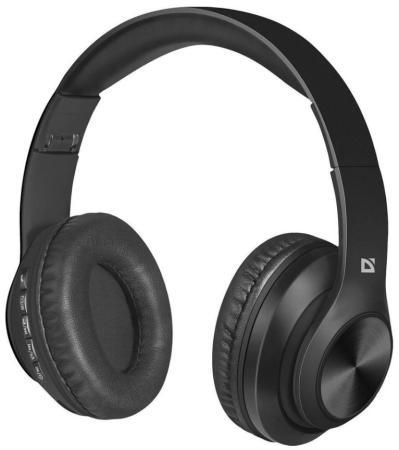 Фото - НОВИНКА. Беспроводная гарнитура FreeMotion B552 черный, Bluetooth наушники defender freemotion b555 63555 black