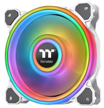Riing Quad 14 RGB Radiator Fan TT Premium Edition Single Pack [CL-F101-PL14SW-C] Thermaltake водяное охлаждение thermaltake floe riing rgb 280 tt premium edition cl w167 pl14sw a