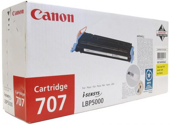 Картридж Canon C-707Y желтый для LBP5000 цены онлайн