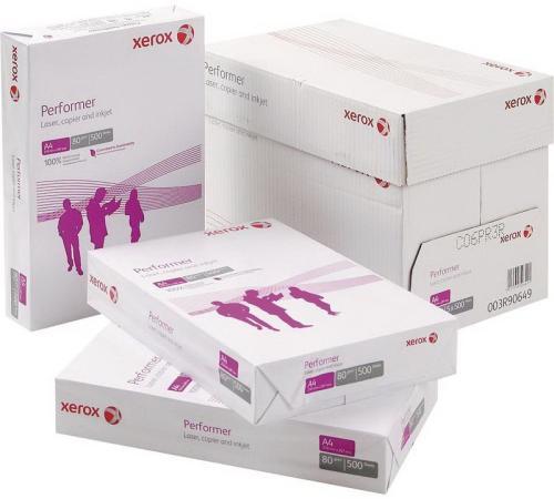 Коробка бумаги Xerox Performer А4 80 г/кв.м пачка 500л 003R90649 отпускается коробками по 5 пачек в коробке