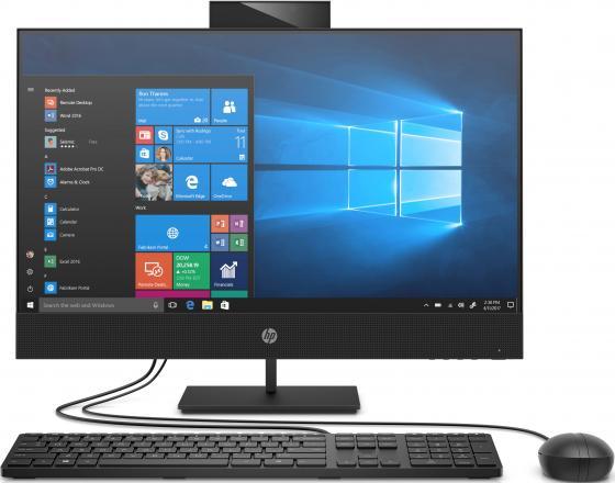 Моноблок 23.8 HP ProOne 440 G6 AIO 1920 x 1080 Intel Core i3-10100T 8Gb SSD 256 Gb Intel UHD Graphics 630 Windows 10 Professional черный 23G69EA моноблок hp proone 440 g6 aio nt 1c7d3ea
