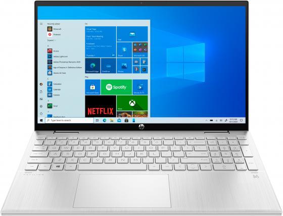Фото - Ноутбук HP Pavilion x360 15-er0003ur Core i3 1125G4/8Gb/SSD512Gb/Intel UHD Graphics/15.6/IPS/Touch/FHD (1920x1080)/Windows 10/silver/WiFi/BT/Cam ноутбук lenovo ideapad ip5 15iil05 core i3 1005g1 8gb ssd512gb intel uhd graphics 15 6 ips fhd 1920x1080 windows 10 grey wifi bt cam