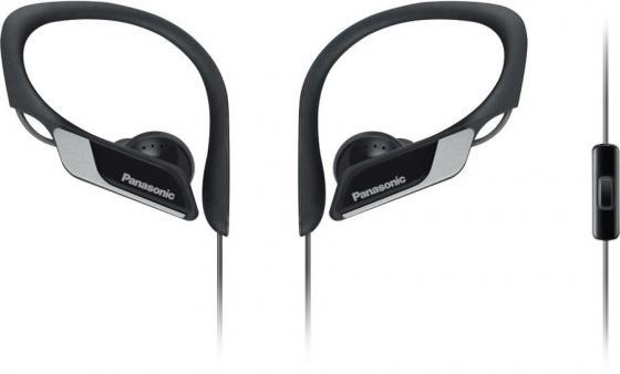 Гарнитура вкладыши Panasonic SPORTS RP-HS35MG 1.2м черный проводные в ушной раковине (RP-HS35MGC-K) гарнитура panasonic rp tca400e k