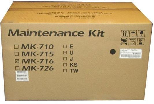 Фото - Комплект сервисный KYOCERA Сервисный комплект MK-716 для KM-4050/KM-5050 сервисный комплект kyocera mk 5205a 1702r58nl0 ремкомплект 200к dk dv k fk tr