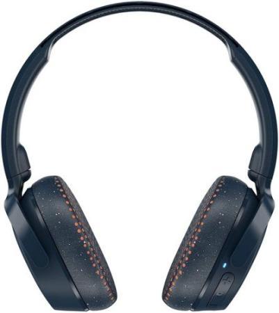 Наушники Skullcandy Наушники беспроводные накладные RIFF WIRELESS ON-EAR, сине-коралловые в крапинку