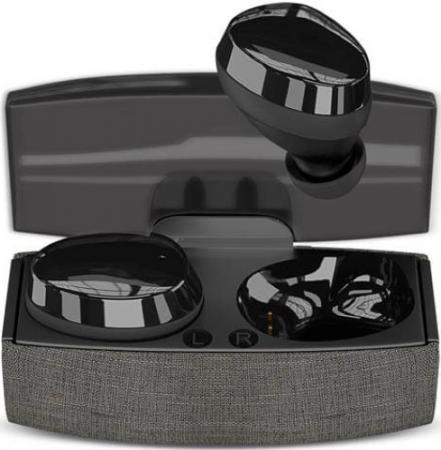 Наушники HIPER Беспроводные наушники HIPER TWS KANG Bluetooth 5.0 гарнитура Li-Pol 2x40mAh+500mAh черный