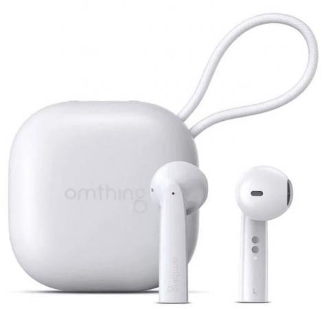Наушники Omthing Гарнитура беспроводная Omthing AirFree Pods True Wireless Headphones наушники беспроводные 1more omthing airfree pods true wireless headphones black eo005 black
