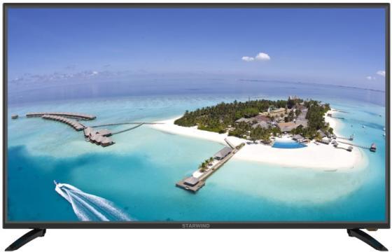 Фото - Телевизор LED 55 StarWind SW-LED55UB401 черный 3840x2160 60 Гц Wi-Fi Smart TV 2 х USB 3 х HDMI RJ-45 CI+ телевизор led 65 sony kd65x81jr черный 3840x2160 60 гц wi fi smart tv 4 х hdmi rj 45 ci 2 х usb bluetooth