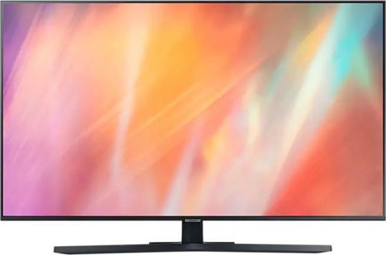 Фото - Телевизор LED 55 Samsung UE55AU7500UXRU черный 3840x2160 60 Гц Wi-Fi Smart TV 3 х HDMI USB RJ-45 CI+ телевизор led 43 samsung ue43au7100uxru титан 3840x2160 60 гц wi fi smart tv 3 х hdmi usb rj 45 ci