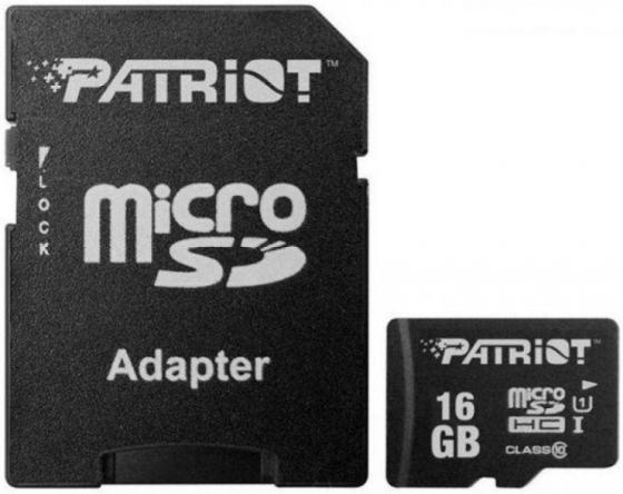 Фото - Флеш карта microSDHC 16GB Class10 Patriot (PSF16GMCSDHC10) LX MICRO SDHC with adaptor мойка patriot gt550 comfort 322306550