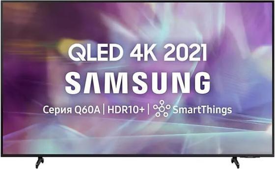 Фото - Телевизор LED 65 Samsung QE65Q60AAUXRU черный 3840x2160 60 Гц Wi-Fi Smart TV 3 х HDMI 2 х USB RJ-45 CI+ телевизор led 43 samsung ue43au7100uxru титан 3840x2160 60 гц wi fi smart tv 3 х hdmi usb rj 45 ci