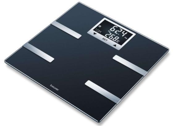 Весы напольные электронные Beurer BF 720 макс.180кг черный весы напольные электронные beurer bf950 макс 180кг белый