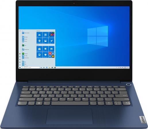 Фото - Ноутбук Lenovo IdeaPad 3 14ITL6 Core i7 1165G7/8Gb/SSD512Gb/Intel Iris Xe graphics/14/IPS/FHD (1920x1080)/noOS/blue/WiFi/BT/Cam ноутбук lenovo ideapad ip5 15iil05 core i3 1005g1 8gb ssd512gb intel uhd graphics 15 6 ips fhd 1920x1080 windows 10 grey wifi bt cam