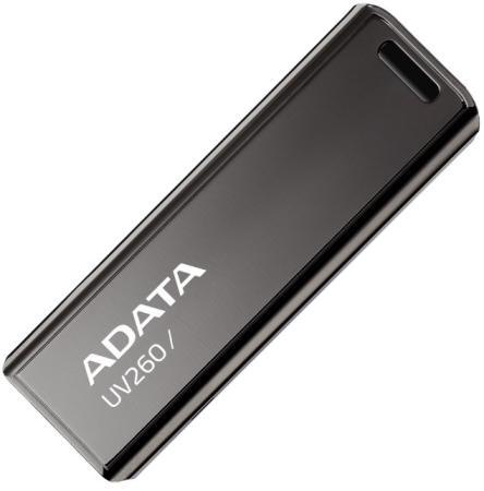 Фото - Флеш накопитель 64GB A-DATA UV260, USB 2.0, Черный флеш накопитель 64gb a data ud230 usb 2 0 cиний