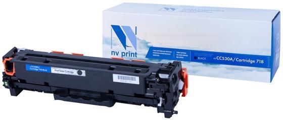 Фото - Картридж лазерный NV PRINT (NV-718BK) для CANON LBP7200Cdn/MF8330Cdn/8350Cdn, черный, ресурс 3400 стр., NV-CC530A/718Bk набор картриджей canon 718bk vp 2662b005