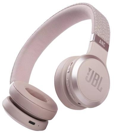 Наушники JBL Наушники беспроводные JBL Live 460 ANC, розовые